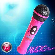 Kids Microphone Music Player Built In Speaker, Children Karaoke Toys Color:pink By Hiquuen.