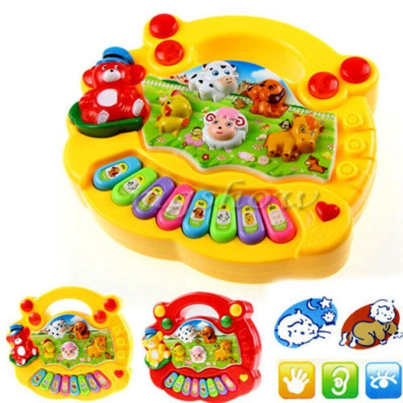 Kids Musical Developmental Animal Farm Piano Sound Educational Toy - intl