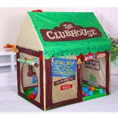 Ready Stock Kids Outdoor Play Tent Foldable Playhouse For Boys (green) By Dreamsbrand.