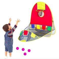 Kids Toys Portable Balls Pool With Hoop Outdoor Play Tent Pit By Dreamsbrand.