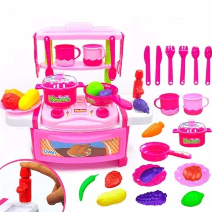 Kitchen Set Lazada: Kitchen Series Cook Happy Happy Kitchen PlaySet Children