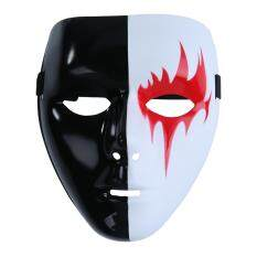 Kobwa Fashion Cosplay Mask For Halloween,plastic White Full Face Masks For Masquerade Party By Kobwa Direct.