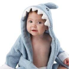 95eac022bf1 Kobwa Soft Cartoon Baby Bath Towels Hooded Towel Newborn Blanket Swaddle  Baby Bathrobe