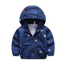 Kurry Newborn Baby Toddler Boy Girl Hooded Coat Kids Jacket Windbreaker Trench 90cm By Kurry.