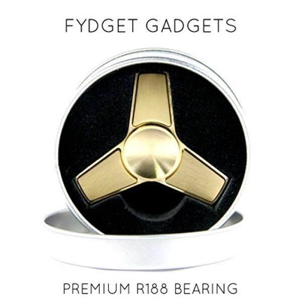 Rp 593.000 [Lamore] Anti Karat FIDGET SPINNER-Prime-C3 Trinity Logam Premium