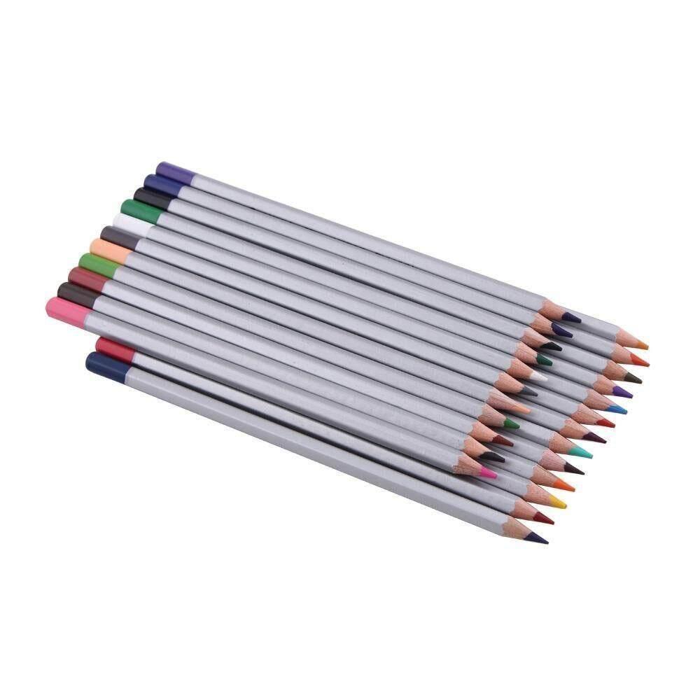 Nonof 24 Warna Marco Profesional Minyak Lembut Inti Premier Berbagai Macam Pensil Warna Sarjana Pekerjaan Rumah