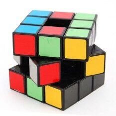 YH Lan Lan 3X3 Void Kubus Puzzle Hitam