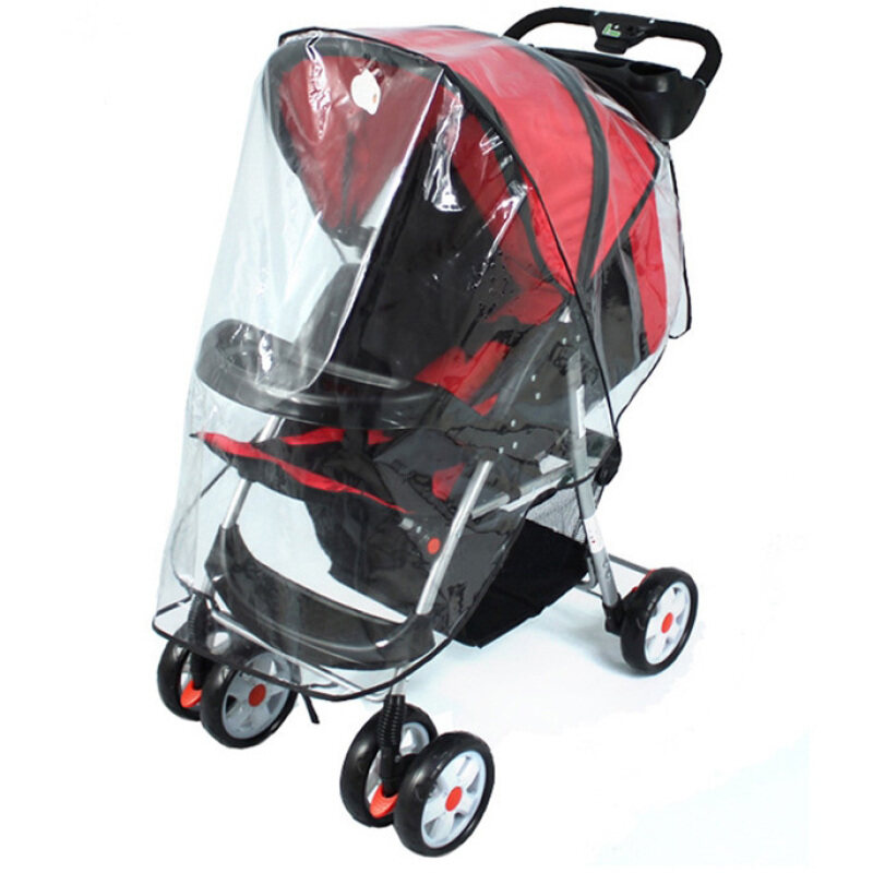 Lcd Universal Waterproof Plastic Cover For Baby Carriage Stroller Singapore