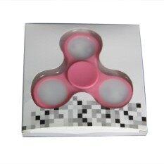 Lampu LED Lebih Tinggi Tangan Spinner Tri Gasing Gyro Mainan Plastik Fidget Spinner untuk Autisme dan