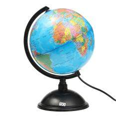 Led World Globe Rotating Swivel Map Of Earth Atlas Geography By Paidbang.