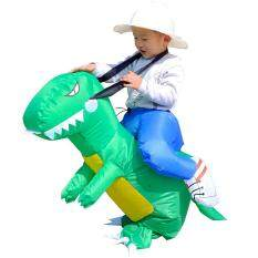 Leegoal Baby Toddler Inflatable Dinosaur Rider Costume Halloween Party Funny Dress Toy For Kids 3-6 Age By Leegoal.