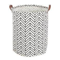 Leegoal Large Storage Bin, Cotton/canvas Storage Basket With Handles For Nursery Or Kids Room- Toy Box/ Toy Storage/ Toy Organizer For Boys And Girls - Laundry Basket/ Nursery Hamper By Leegoal.
