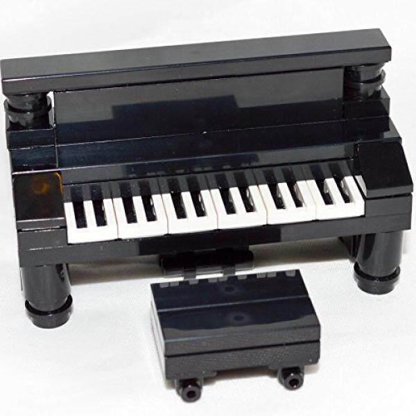 LEGO Furniture: Hitam Upright Piano-Kustom Set, Baru Bagian + Petunjuk-Internasional