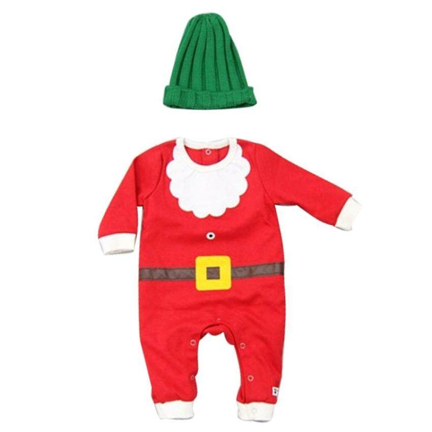 Cestlafit2Pc Sets Kids Santas Lil Elf Costume Unisex-Babychristmas Suits Leotard Santa Hat Jumpsuit Climbing  sc 1 st  Lazada Philippines & Baby Costumes for sale - Costumes For Toddlers online brands prices ...