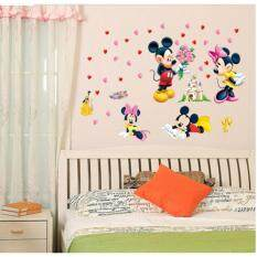 Lovely Mickey & Minnie Wall Stickers By Walplus.