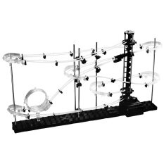 360WISH SpaceRail DIY Physics Space Ball Rollercoaster with Powered Elevator (5000mm Rail) (EXPORT