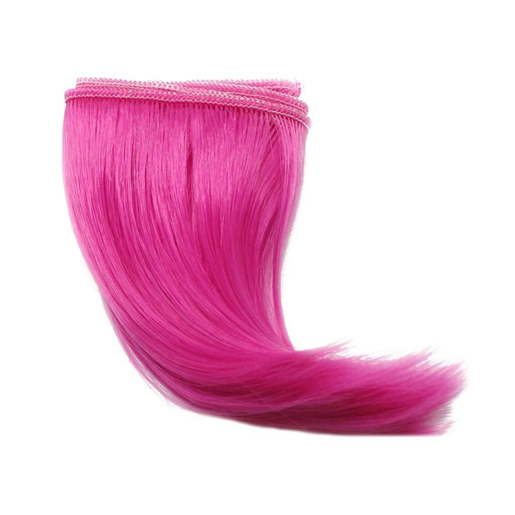 Magideal 10X100 CM DIY Rambut Palsu Lurus untuk 1/3 1/4 1/6 Barbie Boneka BJD Sd #2-Intl