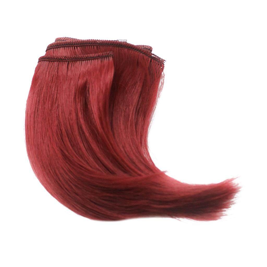 Magideal 10X100 CM DIY Rambut Palsu Lurus untuk 1/3 1/4 1/6 Barbie Boneka BJD Sd #7-Intl
