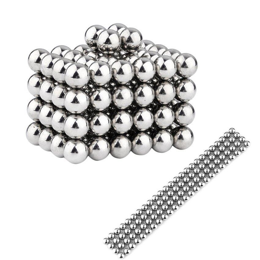 Pop Magnetic Bead Balls (silver) - Intl By Popularfashion.