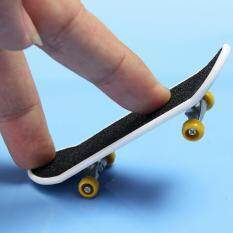Makiyo  Mini  Plastic Finger Skateboard,front With Frosted Stickers (2pcs).