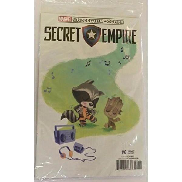 Marvel Kolektor Korps Rahasia Kerajaan Varian Edisi #0 Buku Komik Groot dan Roket-Intl