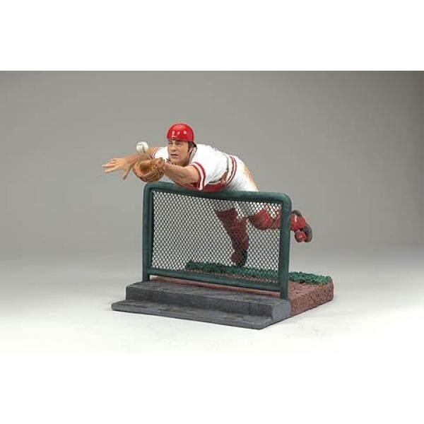 Mainan McFarlane Olahraga MLB Pilihan Semarang Series 4 Action Figure Johnny Bangku (Cincinnati Merah)-Intl