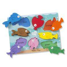 MELISSA & DOUG Chunky Puzzle - Colorful Fish