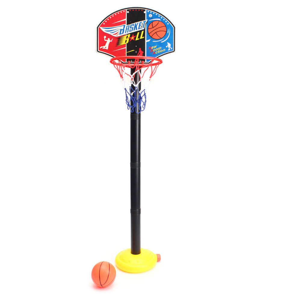 Mini Basketball Net Game Hoop Ring With Ball Basket Toy To Fun Office Easy Use Gift Indoor Portable By Bfdfr9.