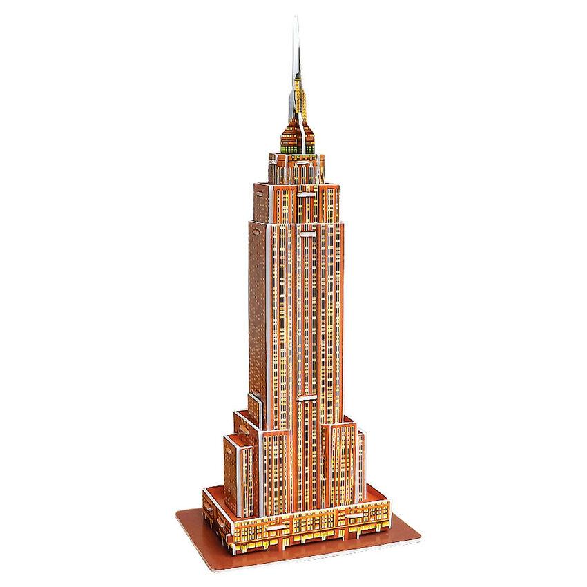 Nixnox Mainan Edukatif Anak . Source · Harga preferensial Mini Educational 3D Model Puzzle Empire State