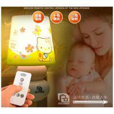 Mini Led Night Light With Remote Control Night Lamp For Kids Room, Bedside, Nursery (hello Kitty) By Dreamsbrand.