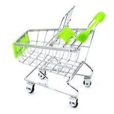Hình ảnh Mini Supermarket Handcart Shopping Utility Cart Mode Storage Basket Desk