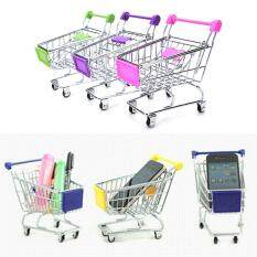 Hình ảnh Mini Supermarket Handcart Shopping Utility Cart Mode Storage Child Cart Toy - intl