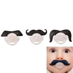 Moustache Pacifier for Baby Novelty Gentilhomme Moustache Nipple Funny SizeB