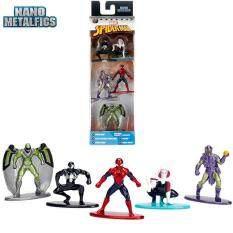 Nano Metal 5 Figures Marvel Spider-Man Black Costume, Gwen, Vulture Green Goblin By Kimi Online Store.