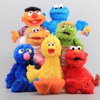 Baru 7 Gaya Sesame Jalanan Elmo Kue Kering Grover Zoe   Ernie Besar Burung  Stuffed Mewah 1da5622c9c