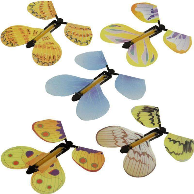 New Creative Random Magic Flying Butterfly Freedom Butterfly Tricks Toy - Intl By Saista Store.