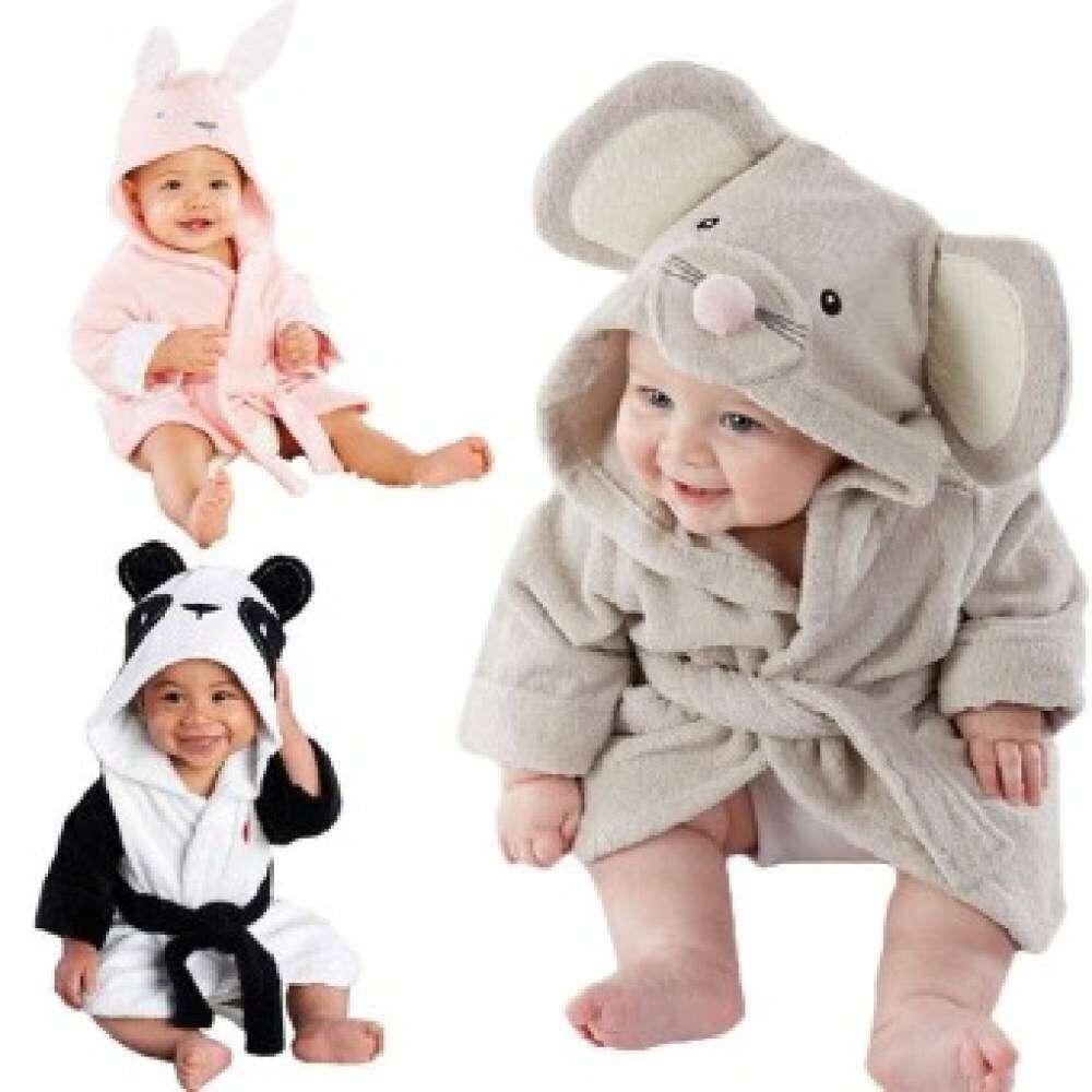 a6ccddfd0 [HSGA16RS] New Fashion Cute Animal Cartoon Baby Kid s Girls Bathrobe  Color:Black