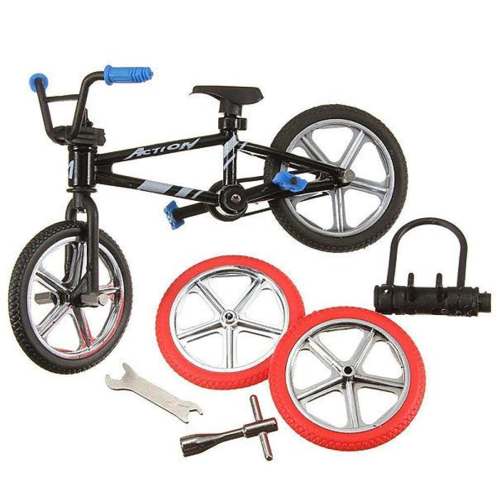 Baru Jari Gunung Fuctional Model Sepeda Sepeda Hadiah Mainan Kreatif BMX Set Anak Laki-laki