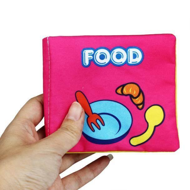Bayi Pendidikan Dini Tempat Tidur Sekitar Hewan Buku Kain Mainan Source · Baru Lembut Kain Perkembangan