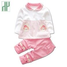 47f029b18911b Newborn Baby girl clothes spring autumn baby clothes set cotton Kids infant  clothing Long Sleeve Outfits