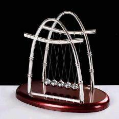 Hearty Kids Early Fun Development Educational Desk Toy Newtons Cradle Steel Balance Ball Physics Science Pendulum Toy For Children Gift Sturdy Construction Home
