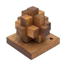 Newtons Comet: Handmade & Organic 3D Wooden Puzzle for Adults from SiamMandalay with Free SM Gift Box(Pictured)