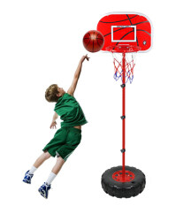 Niceeshop Adjustable Childrens Basketball Stand, Portable Basketball Set For Children, 1.5m By Nicee Shop.