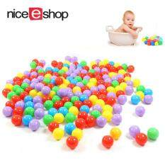 Niceeshop Ball Pit Balls For Baby Kids 100pcs Non-Toxic Crush Proof Ocean Plastic Ball By Nicee Shop.