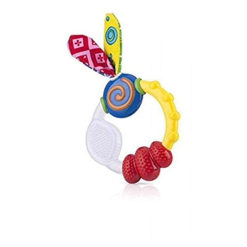 Nuby Wacky Teething Ring (2 Pack) Singapore
