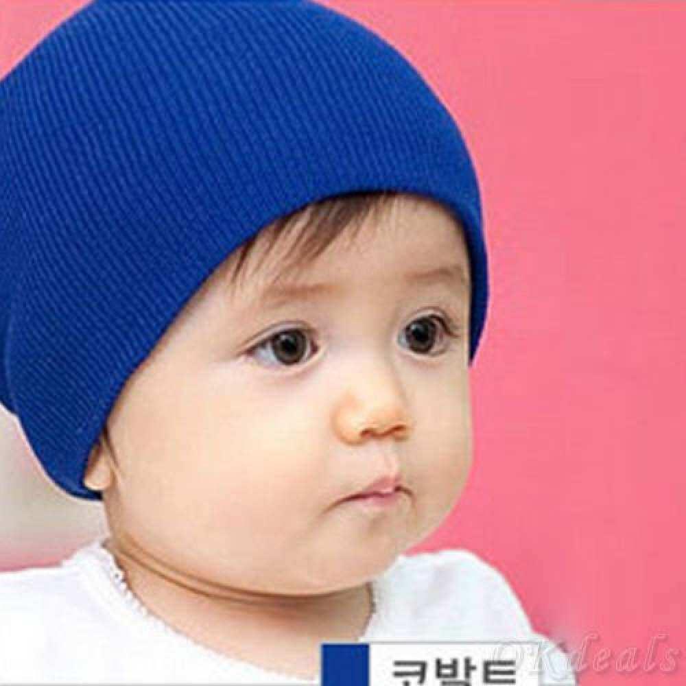HSGA16RS Okdeals Unisex Bayi Laki-laki/Perempuan Katun Lembut Rajut Beanie Gelap Topi Musim