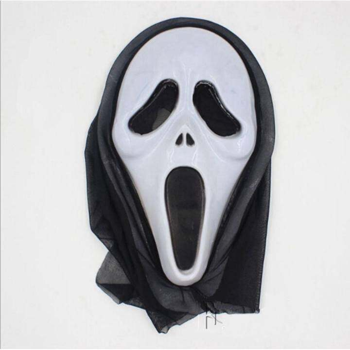 One Piece Halloween Bleeding Scream Scary Horror Ghost Mask Can Be Used During Dress Party Screaming
