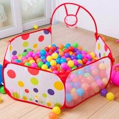 Outdoor/indoor Foldable Kids Children Game Tent Portable Ocean Ball Pit Pool Toy By Qiaosha.
