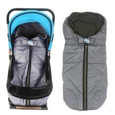 Outdoor Tour Waterproof Baby Stroller Sleeping Bag Warm Footmuff - Grey By Tvcc.