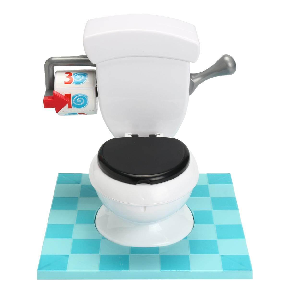 Hình ảnh OZ Toilet Trouble Hilarious Board Game Flush Sound Effects Kids Children Fun Toy - intl